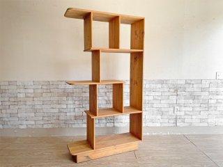 アクメファニチャー ACME Furniture ポカテロ POCATELLO パイン材 オープンシェルフ 本棚 飾り棚 H181cm 廃番 参考価格¥118,620- ●
