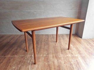 ウニコ unico ノルド NORD dining table ダイニングテーブル W125 北欧ビンテージスタイル ウォールナット材 廃番 ♪