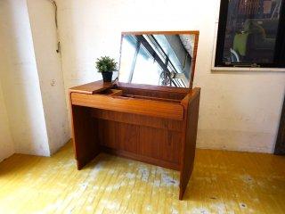 Torring mobelfabrik チーク材 ドレッシングテーブル Dressing Table ドレッサー デンマーク Danish Vintage 60's ★
