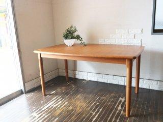 グドメ GUDME ダイニングテーブル 北欧 ビンテージ チーク材  デンマーク  ◎