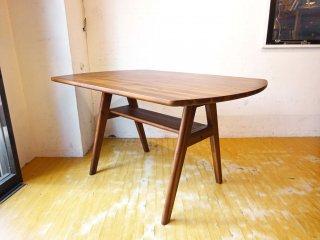 ウニコ unico スウェラ swella アカシア無垢材 ダイニングテーブル W120cm ★