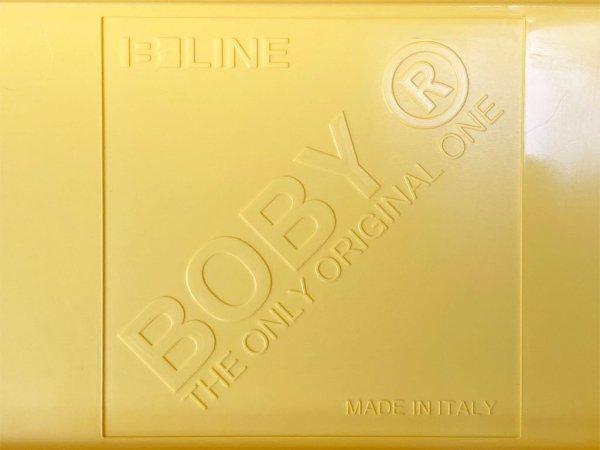 ビーライン B-LINE ボビーワゴン BOBY WAGON ジンクイエロー 3段3トレー 廃番カラー ジョエ・コロンボ Joe Colombo イタリア MoMA ■