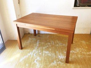 ウニコ unico リベロ LIBERO エクステンション ダイニングテーブル ウォールナット 廃盤 幅120cm・150cm・180cm 伸長式テーブル ★
