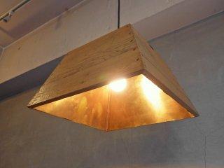 Versmissen Furniture V_LAB ペンダントライト リサイクルパインウッド × 赤銅 インダストリアルデザイン オランダ ♪