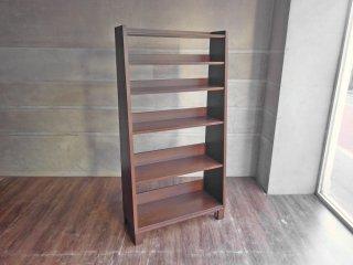 エーフラット a.flat ブックシェルフ Book shelf Hv02 木製 オープンシェルフ アッシュ モダンアジアンスタイル 定価:75,042円♪