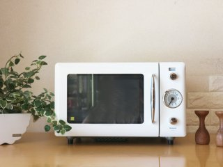 ナショナル National ウィル WiLL 電子レンジ 2004年製 NE-R1 希少廃番 デザイン家電 ホワイト ◎