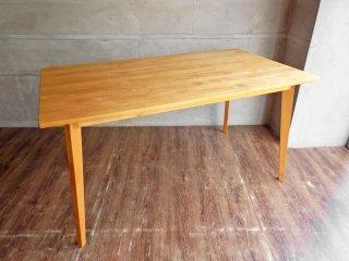 モモナチュラル Momo Natural ビボ VIBO ダイニングテーブル W140 アルダー材 ♪