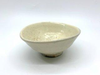 森岡 成好 茶碗 中鉢 直径14cm 粉引 陶芸家 現代作家 ●
