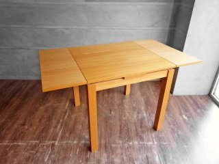 ウニコ unico ヴィボ VIVO オーク材 エクステンション ダイニングテーブル 伸長式 北欧スタイル ♪