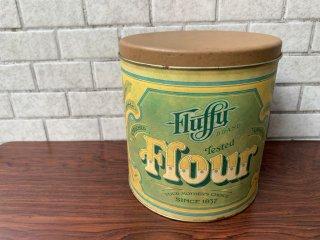 USビンテージ US Vintage バロノフ Ballonoff キッチンキャニスター 小麦粉 ティン缶 ブリキ缶 カントリー 70's ■