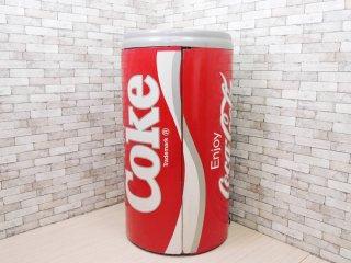 コカ・コーラ Coca Cola 特大 冷蔵庫 オブジェ 店舗什器 ジャンク品 アメリカ製 缶型 希少 USビンテージ ●