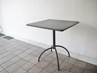 エミュー emu クラシックコレクション セーニョ SEGNO フォールディングテーブル スクエア スチール製 カーキ  折り畳み イタリア 参考定価 : ¥50,600- ◇