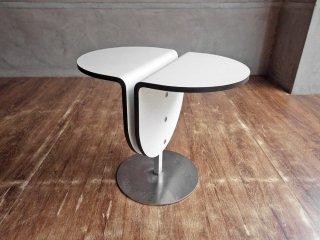 トレスパ・ジャパン TRESPA JAPAN スツール サイドテーブル ホワイト 村澤一晃デザイン 希少 ♪