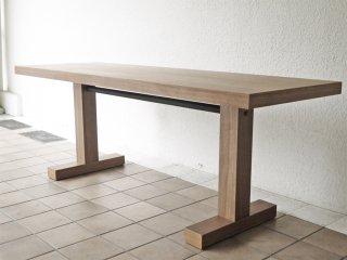 アクタス ACTUS オウン エフ OWN-F ダイニングテーブル ウォールナット材 幅180cm モダンデザイン 定価\124,300- ◇