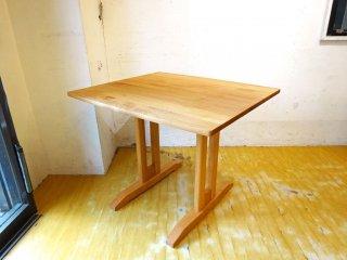 モモナチュラル MOMO natural ソファテーブル アルダー無垢材 スクエア ナチュラル ★