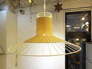 イデー IDEE リリウムランプ L LILIUM LAMP L ラタン スチール ペンダントランプ ナチュラルモダン ★