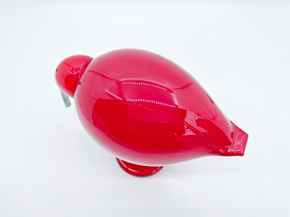 イッタラ iittala イッタラバード Birds by Toikka レッドアイビス Red Ibis 赤トキ 2005年 箱付 オイバ・トイッカ Oiva Toikka 北欧雑貨 ●