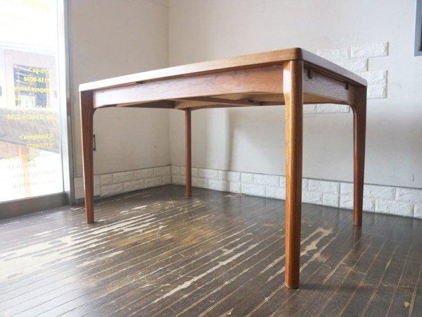 Vejle Stole og Mobelfabrik EXテーブル チーク材 ダイニングテーブル  ヘニング・ケアヌルフ Henning  Kjaernulf デンマーク 北欧ビンテージ ◎