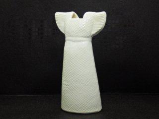 リサラーソン Lisa Larson ワードローブ Wardrobe ドレスベース Vases Dress フラワーベース ホワイト 現行品 スウェーデン 北欧雑貨 ♪
