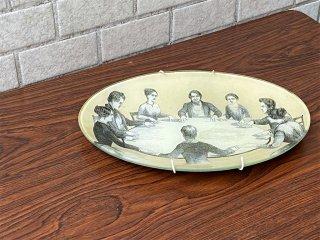 ジョン・デリアン JOHN DERIAN デコパージュプレート ウォールデコ 飾り皿 ニューヨーク ■