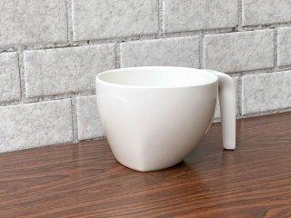 イッタラ iittala エゴ Ego スープカップ ホワイト ステファン・リンドフォース 北欧食器 廃番 B ■