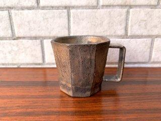 福村龍太 コーヒーカップ マグカップ 日月窯 陶芸作家 現代作家 ■