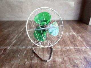 富士電機 FUJI DENKI エレクトリックファン 扇風機 卓上扇風機 FDZ 2561 昭和レトロ インテリア 動作品 ♪