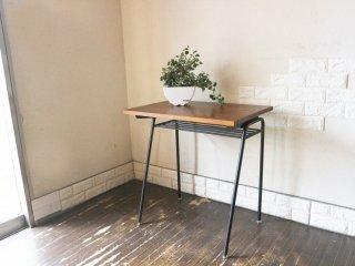ジャーナルスタンダードファニチャー journal standard Furniture jsF サンク SENS PC デスク オーク無垢材 アイアン 鉄脚 インダストリアル jsF ◎