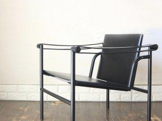 カッシーナ イクスシー Cassina ixc LC1 スリングチェア 本革 ブラック ル・コルビュジェ Le Corbusier 定価¥484,000 ◎