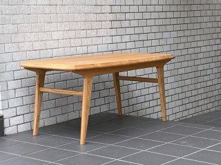 イデー IDEE イキ ローテーブル IKI LOW TABLE ナラ材 ナチュラル 北欧デザイン ■