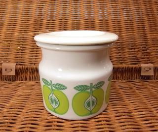 アラビア Pomona ジャムポット 青リンゴ