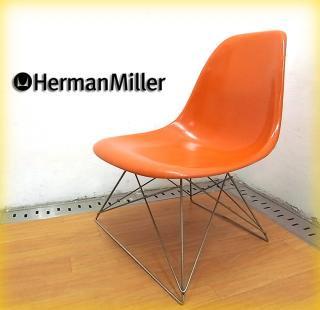 Herman Miller / ハーマンミラー ◇ 55〜75's ヴィンテージ サイドシェルチェア LSR オレンジ