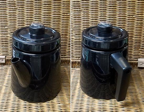 ● アンティ・ヌルメスニエミ 復刻 コーヒーポット 1.6L ブラック 未使用箱付