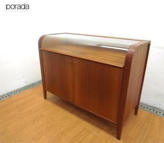 ● ACTUS Poradaポラダcorner1サイドボード 飾り棚 収納 ショーケース