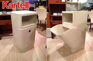 ☆カルテル / Kartell コンポニビリ / COMPONIBILI   Laundry Box & Square Element Low