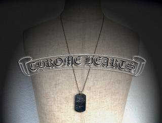 ◇ CHROME HEARTS ( クロムハーツ ) × The Rolling Stones (  ローリングストーンズ ) Silver Pendant  『 DOG TAG