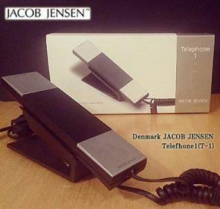 ◇ Denmark   JACOB JENSEN  Stylish phone 「Telefhone1(T-1)」 Designed by Jacob Jensen