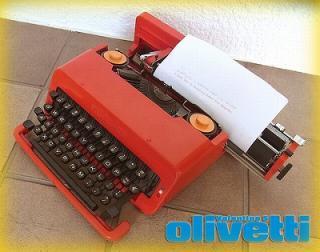 ◇ オリベッティ / olivetti タイプライター『 バレンタインS 』