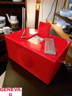 ◎GENEVA ジュネーバ サウンドシステム Model M レッド RED ピアノ塗装