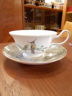 ◎WEDGWOOD ウェッジウッド HUMMING BIRDS ハミングバード ハチドリ ティー Tea C&S