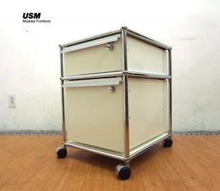 ● USM Haller/ハラーシステム デスクワゴン キャビネット