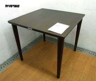 ★カリモク60+  ダイニングテーブル モカブラウン色 80cm