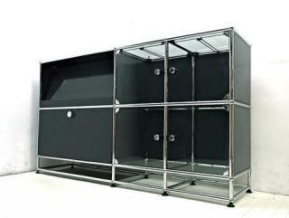 ● USM Haller / ハラーシステム ガラスパネル使用キャビネット