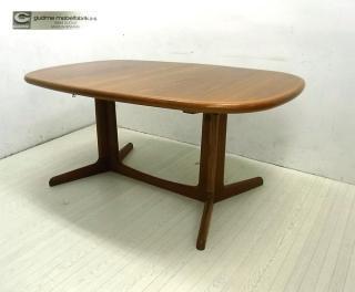 ● デンマーク GUDME グドメ社 チーク材 5884伸長式ダイニングテーブル