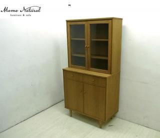 ◎Momo natural モモナチュラル レッドオーク VENTシリーズ キッチンキャビネット リビングボード
