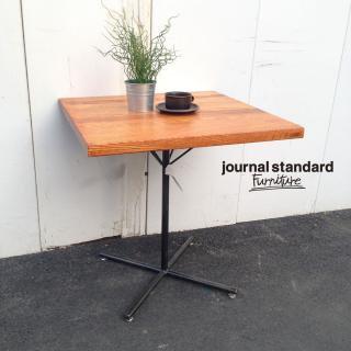 ★ journal standard Furniture / ジャーナルスタンダード サンクカフェテーブル スクエア オーク無垢材 SENS CAFE TABLE