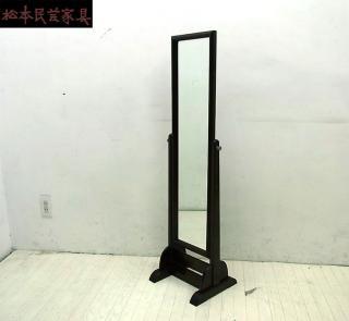 ● 松本民芸家具 C型 姿見 スタンドミラー ミズメザクラ 定7万