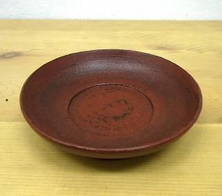 ● 赤木明登 茶托/豆皿 A 赤 輪島塗