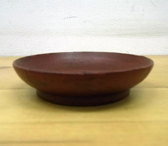 ● 赤木明登 茶托/豆皿 B 赤 輪島塗