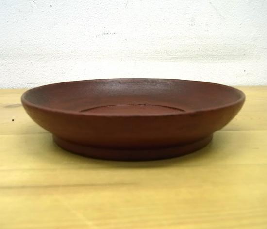 ● 赤木明登 茶托(大)/銘々皿 A 赤 輪島塗